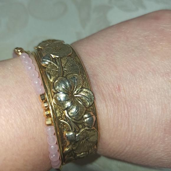 Vintage Boho Brass Bracelet